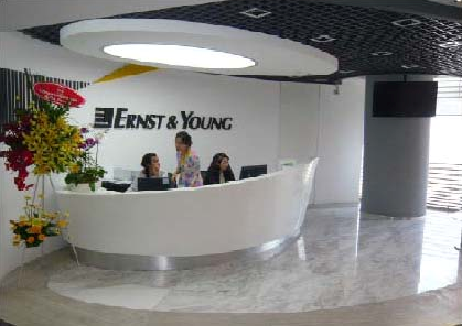 Ernst & Young office fit-out, Ho Chi Minh City